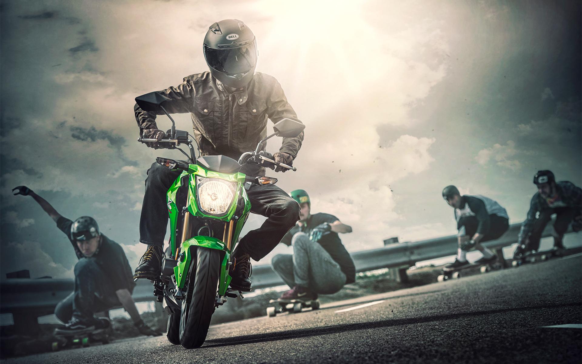 2017 Z125 PRO Motorcycle - Kawasaki Latin America