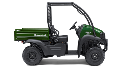 New Kawasaki Vehicles