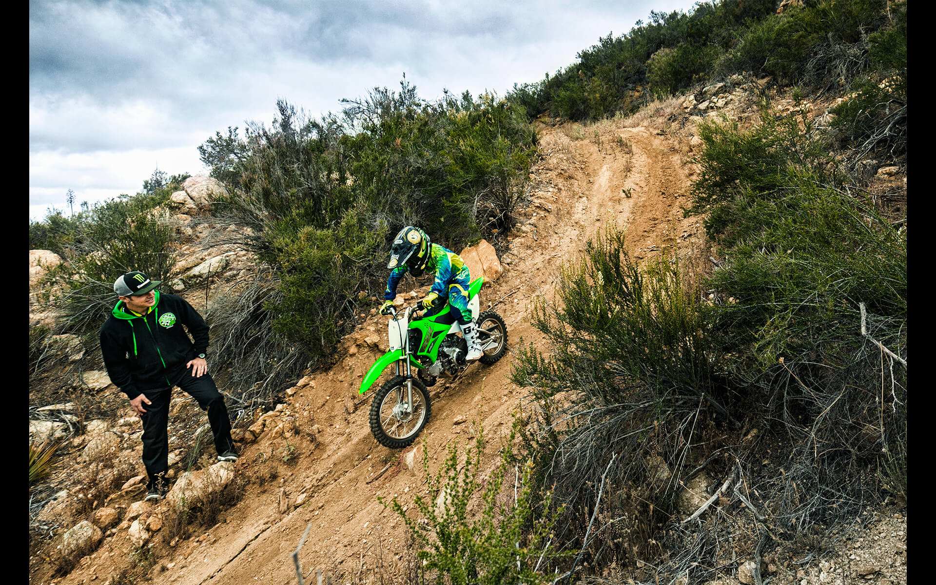 2020 Kawasaki KLX110 | Off-Road Motorcycle | Lightweight & Fun